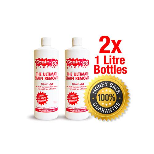 2x StainGO Bottles-Multi-Purpose Stain Remover Melbourne